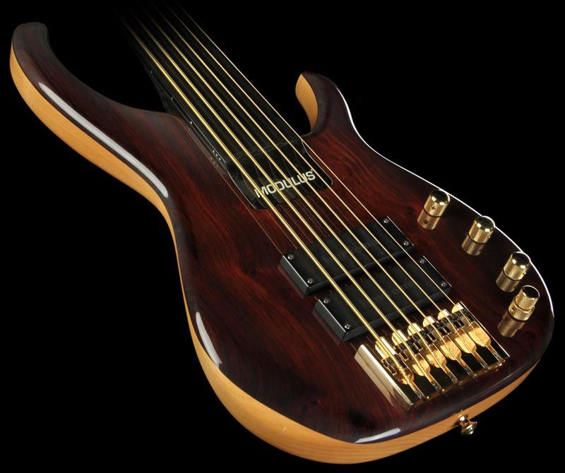1996 Modulus Quantum Sweet Spot Turbo 6 String Fretless Electric Bass