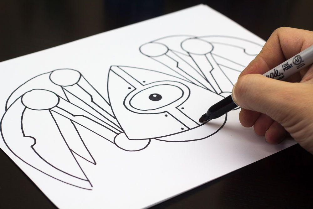 how to draw a robot crab art for kids hub kid art drawing rh pinterest com art hub how to draw a turkey art hub how to draw a turkey