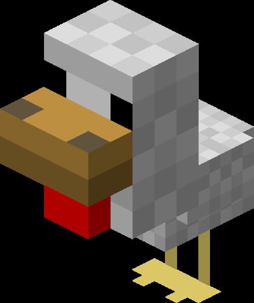 File Baby Chicken Png Minecraft Clipart Minecraft Minecraft Party