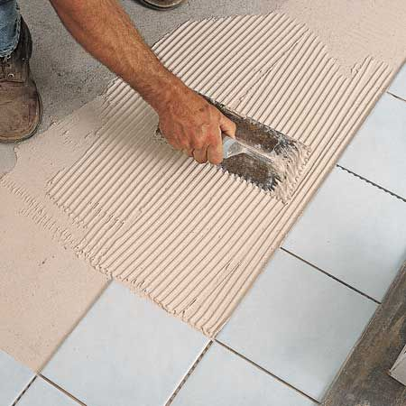 How To Tile A Floor House Tile Flooring And Bath