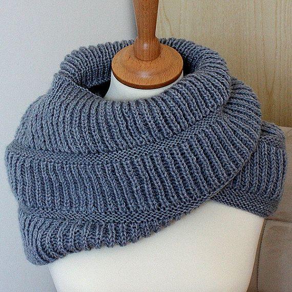 Knitting Pattern Oxford Hooded Cowl (pdf file) | DIY | Pinterest ...