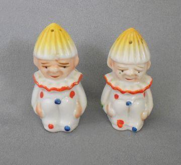Vintage Nurse Salt and Pepper made in Japan
