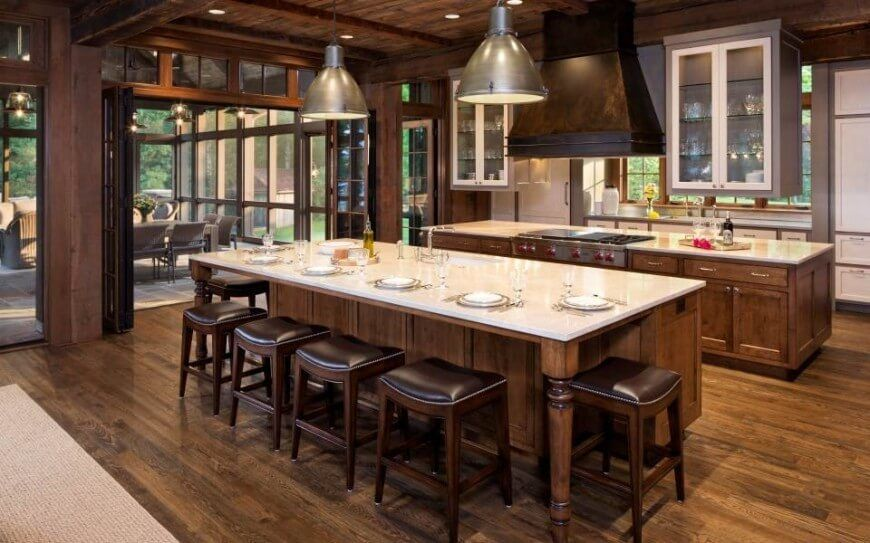 100 country style kitchen ideas for 2018 - Large Country Kitchen