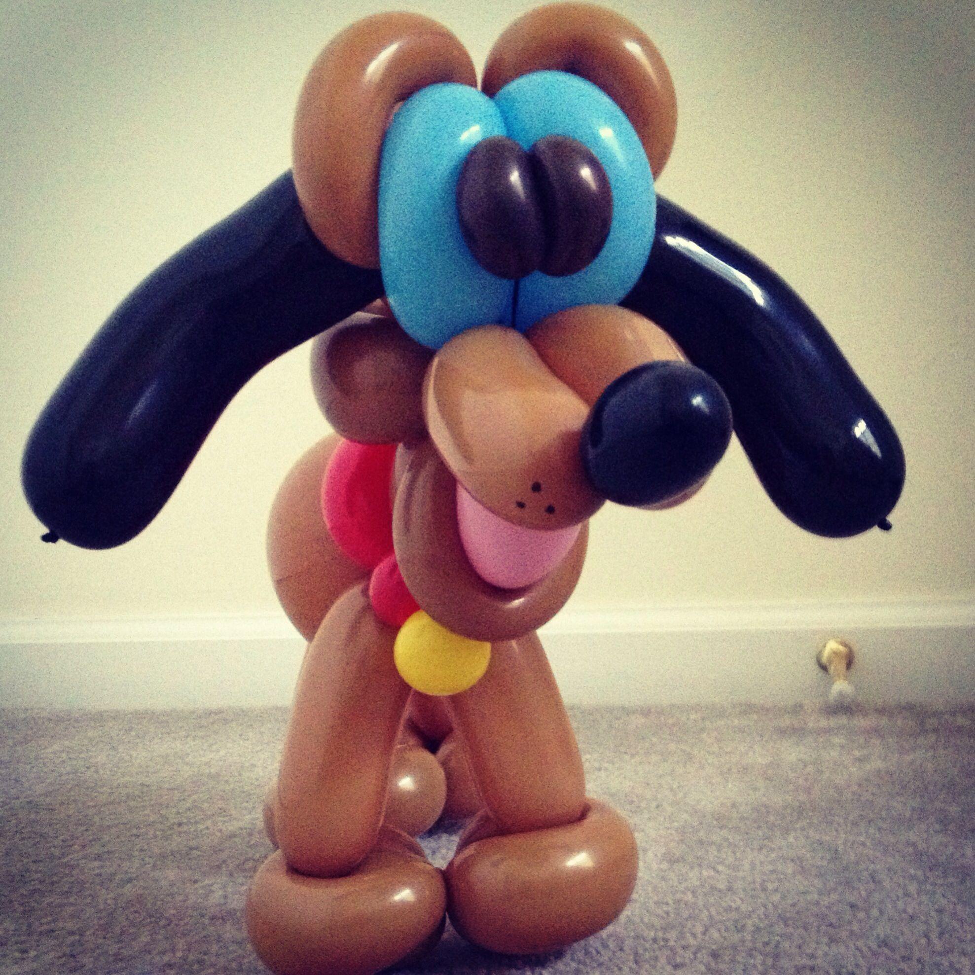 Dog, Balloons, Balloon Animals, Balloon Art, Balloon