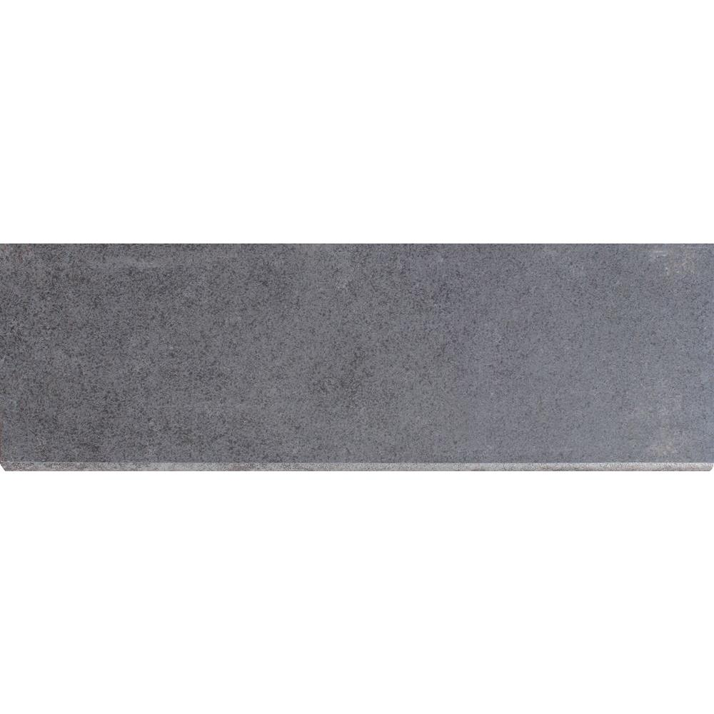Msi Beton Concrete Bullnose 4 In X 12 In Glazed