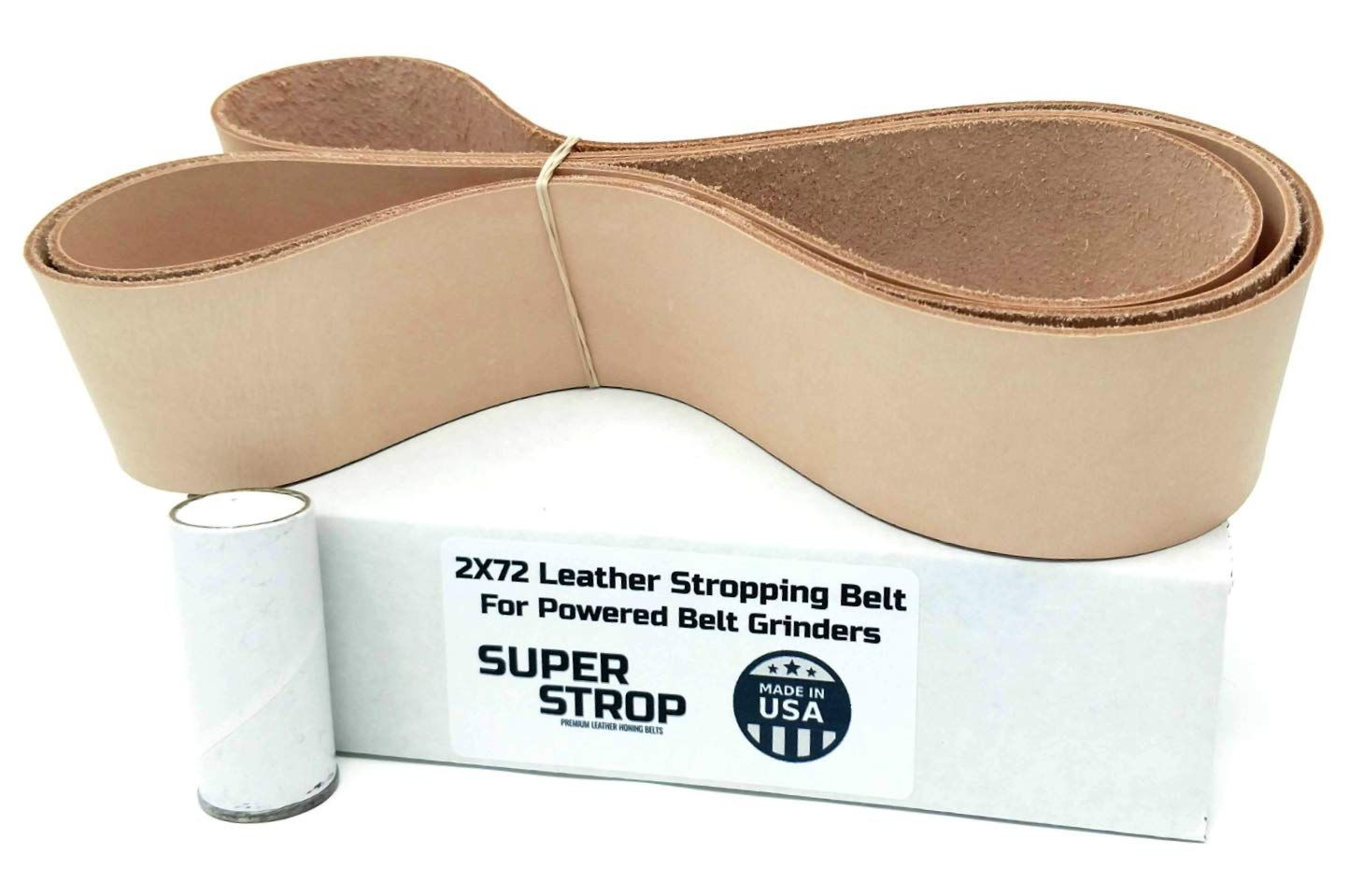 2x72 Inch Super Strop Leather Honing Stropping Belt For 2x72 Belt