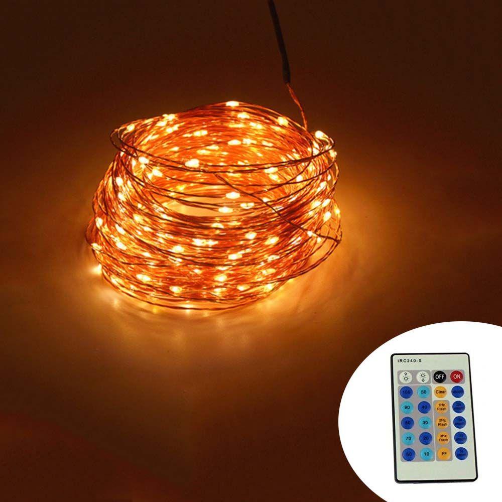 Günstige IR Fernbedienung 30 mt 300 LED Outdoor Lichterkette ...