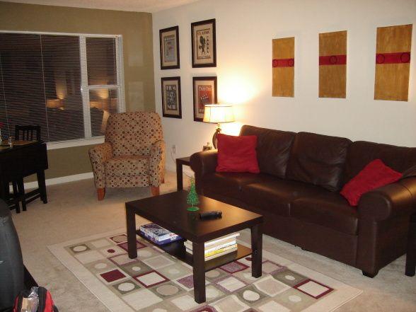 College Apartment Living Room \u2022 home ideas \u2022 Pinterest College