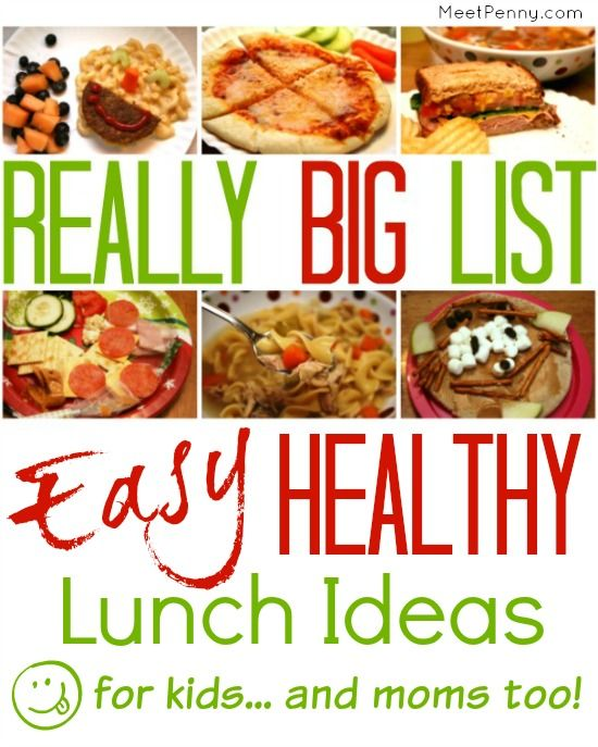 Easy Healthy Lunch Ideas For Kids And Mom Too Cibo Cibo E