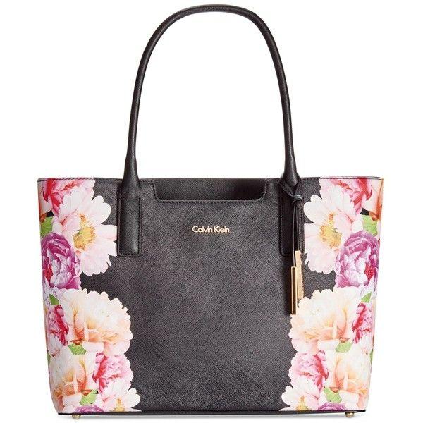 Tote bag · Calvin Klein Saffiano Leather ...