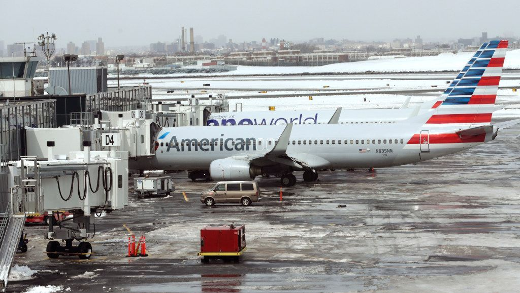 American Airlines calls video of dispute with agent