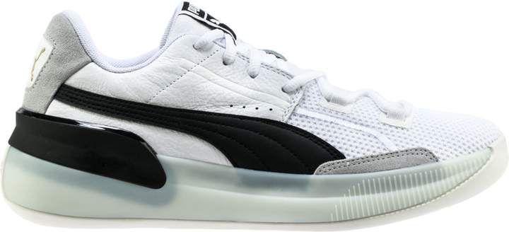 Clyde Hardwood basketballsko   Puma White Puma Black   PUMA