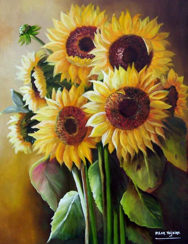 35 Paintings Of Flowers By Famous Artists | Sunflowers ...