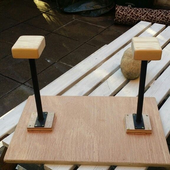 Newly Upgraded Circus Props Handstand Canes Mdf Base
