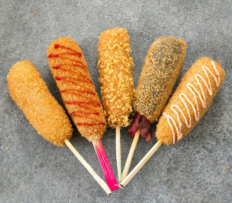 Chung Chun Rice Dog Corn Dogs Dog Recipes Korean Street Food