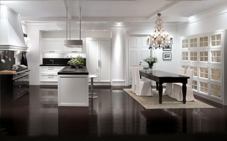 Modern Classic Home Kitchen Interior 608 Interior