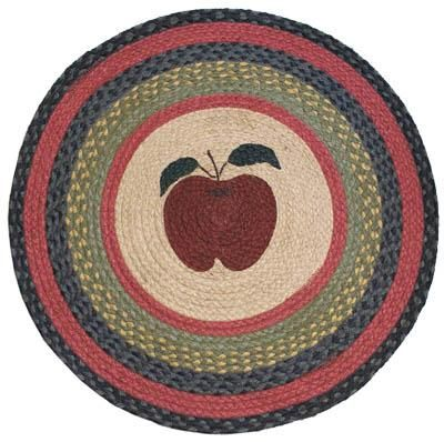 Image Detail For Country Rug Apple Round Rug Braided Round