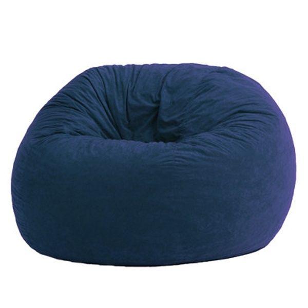 Make Great A Dark Blue Bean Bag Chair
