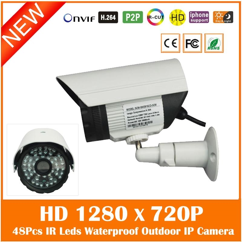 (32.93$)  Buy here - http://aix6o.worlditems.win/all/product.php?id=32609189863 - Hd 720p 1.0mp Ip Camera Outdoor Waterproof Bullet Security Surveillance Night Vision Cctv Cmos Motion Detect Freeshipping Hot