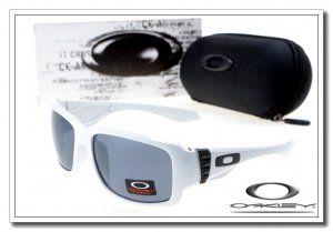 oakley big taco sunglasses white / black iridium
