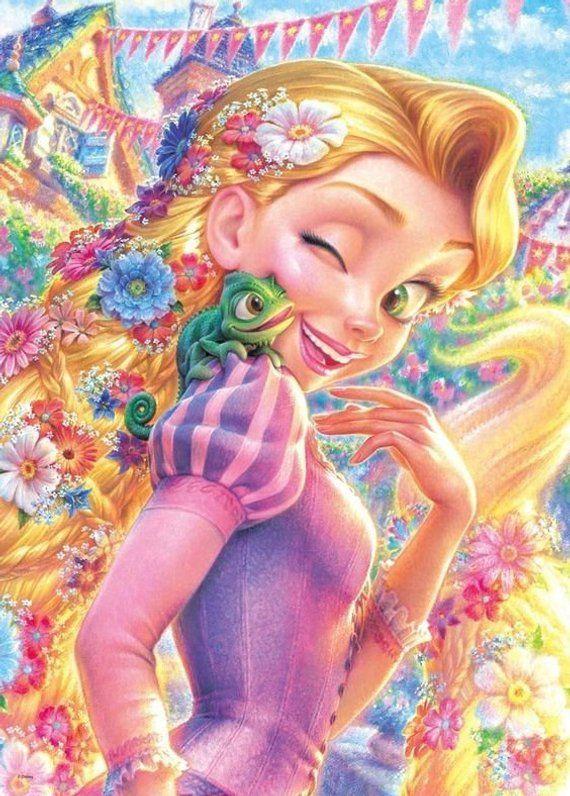 5D Diamond embroidery Disney Princess Diy diamond painting full circular rhinestone paste Crafts Nee
