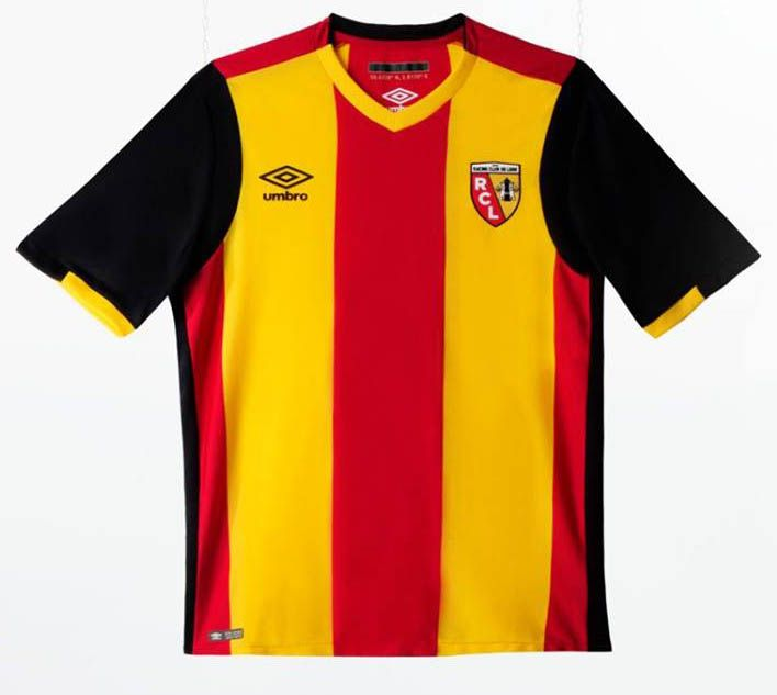 RC Lens 16-17 Home and Away Kits Released - Footy Headlines