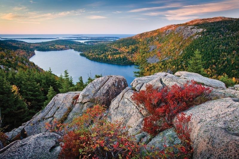Because Acadia National Park has some of the most beautiful views on earth. | 39 Reasons Living In Maine Ruins You For Life
