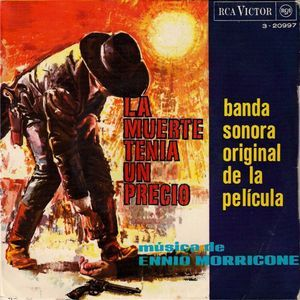 Ennio Morricone La Muerte Tenía Un Precio Banda Sonora Original De La Película Banda Sonora Sonora Banda