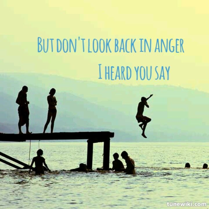 Noel Gallagher Dont Look Back In Anger Quotes Friendship