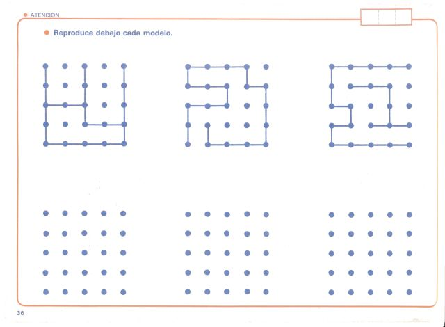 ejercicios de atencion y memoria para imprimir