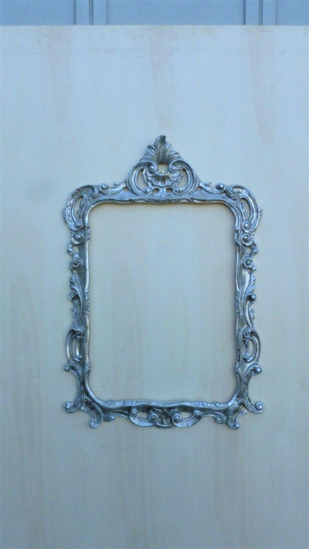 Cornice da specchio intagliata a mano in legno stile