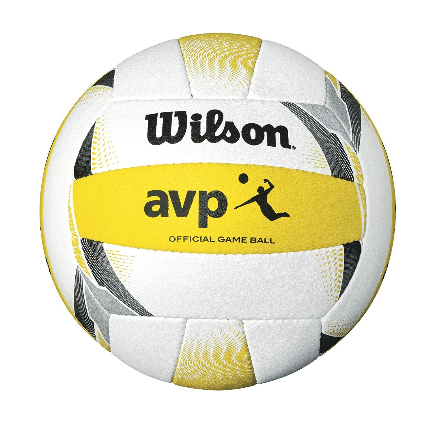 Wilson Official Avp Ii Outdoor Volleyball Beach Volleyball Volleyballs Fun Sports