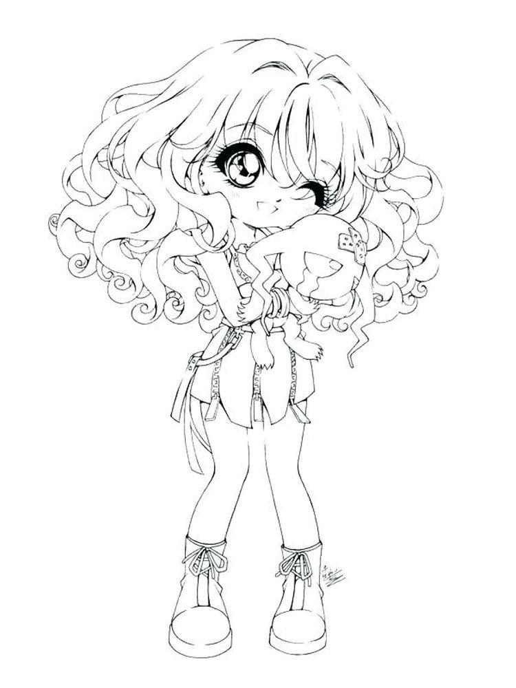 Chibi Maruko Chan Coloring Page