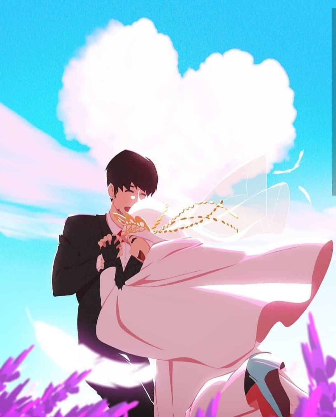 Cinta Beda Agama ( Fanfic ) di 2020 Seni anime, Seni