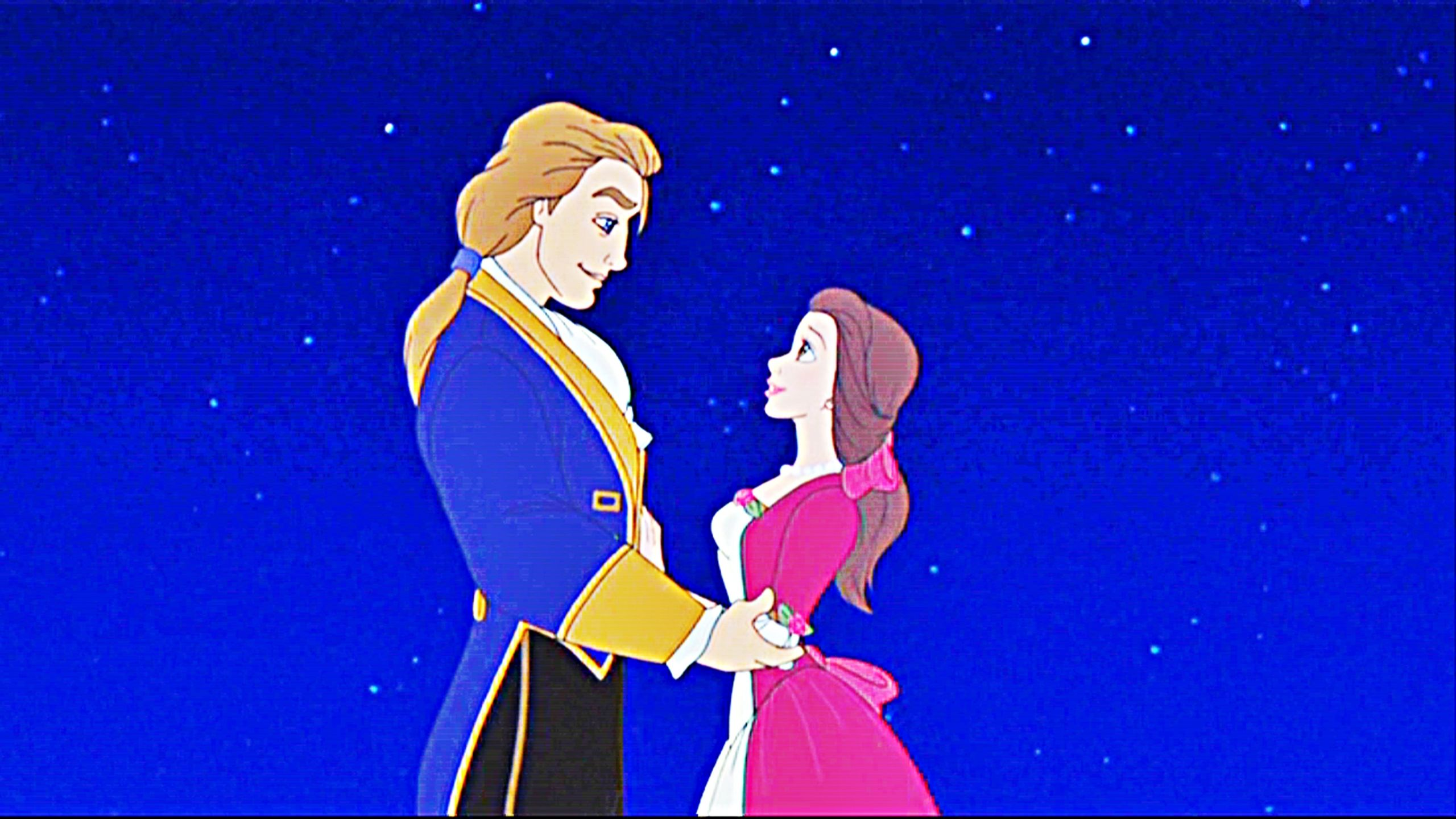 Princess Belle and Prince Adam | Disney-Princess-Prince-Adam ...