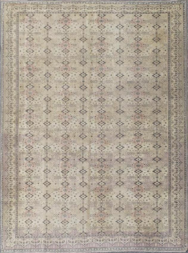 Keivan Woven Arts Type Sevas Origin Turkey Size 9 7 X12 6 Circa 1930
