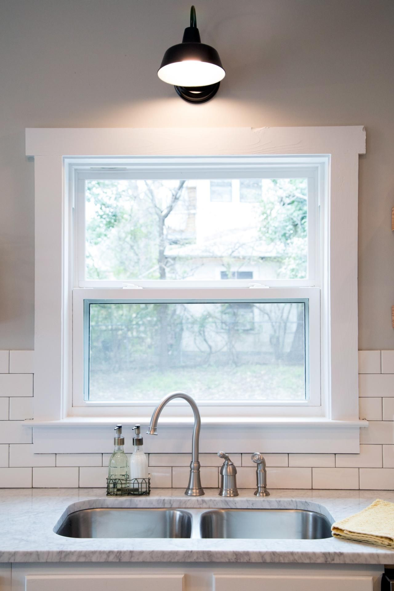 Fixer Upper Tackling Quot The Beast Quot Window Kitchen Sink