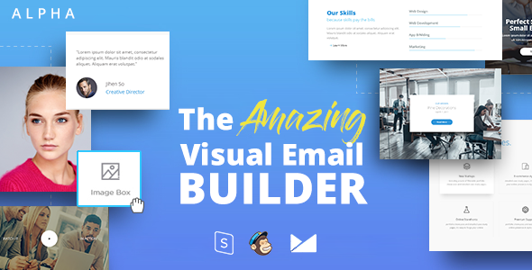 All Features Responsive Email Template Online Editor Unlimited ...