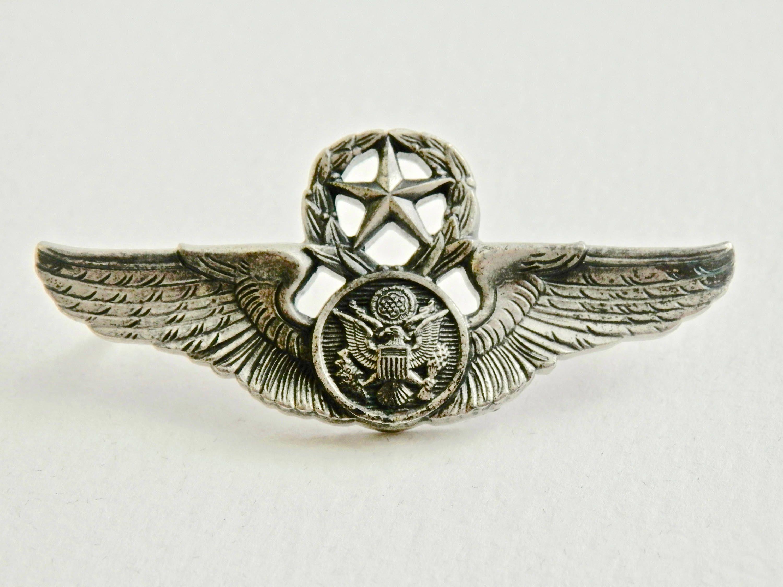 Vintage Military Pin Army Navy Air Force Marines Pin