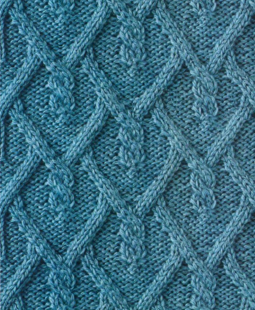 Rhomb Ornament Cool Knitting Pattern Knitting Models Pinterest