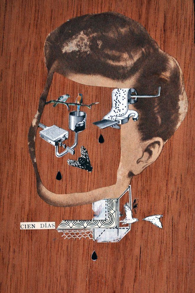 Paz Brarda, nada de ordenadores y mucho collage handmade   Singular Graphic Design