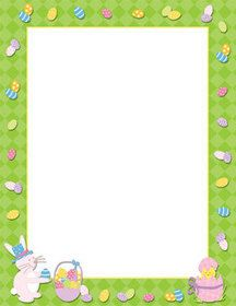 picture relating to Easter Bunny Letterhead called Masterpiece Studios 972913 Easter Season Letterhead #Easter