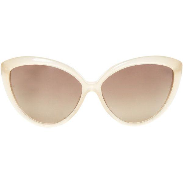 oversized sunglasses - Metallic Linda Farrow 1D91LNrLT0