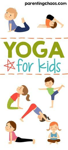 Geeky image for printable yoga poses for preschoolers