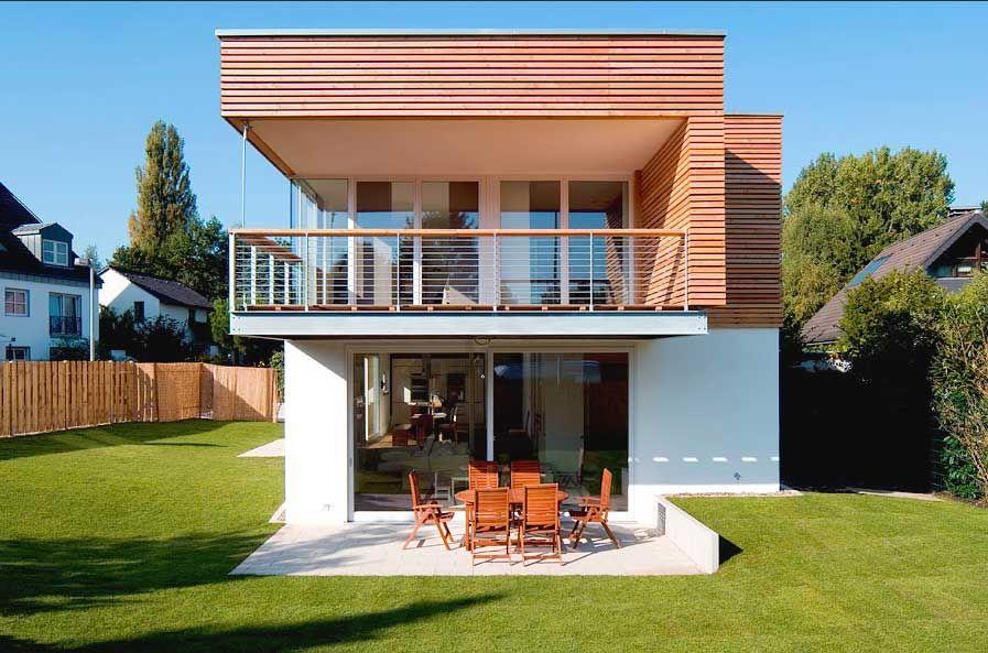 haus bauen kleine einfamilienh user neubau aussen gestalten haus dekorieren ideen mit terrasse. Black Bedroom Furniture Sets. Home Design Ideas