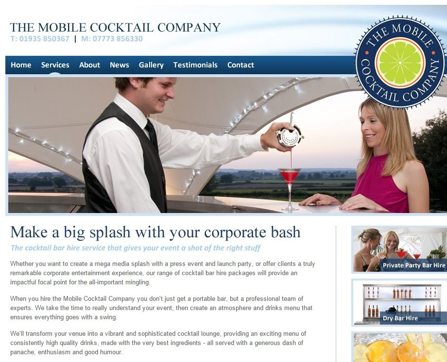 Mobile Cocktail Company corporate
