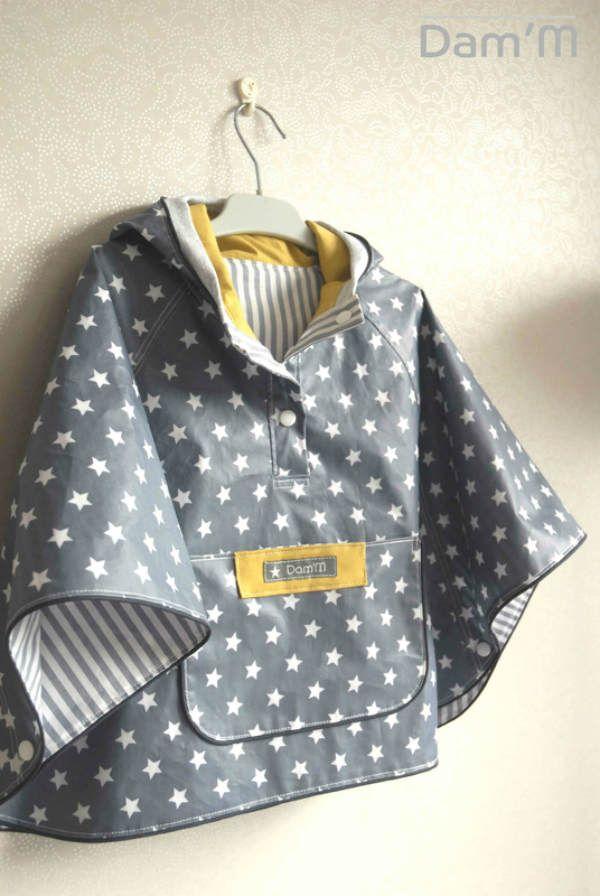 coup de coeur couture la cape de pluie de marguerite couture babies and clothes. Black Bedroom Furniture Sets. Home Design Ideas