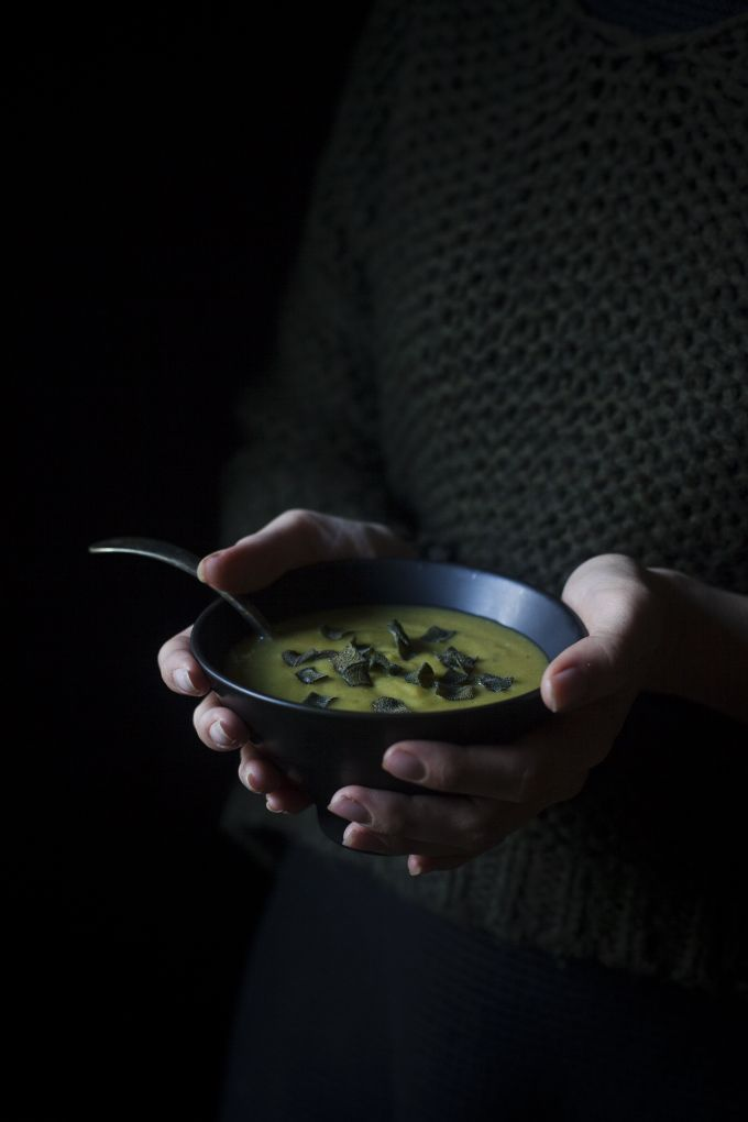 The Freaky Table | Short story for a Venetian soup with 'spezzati', green curry paste and crispy sage