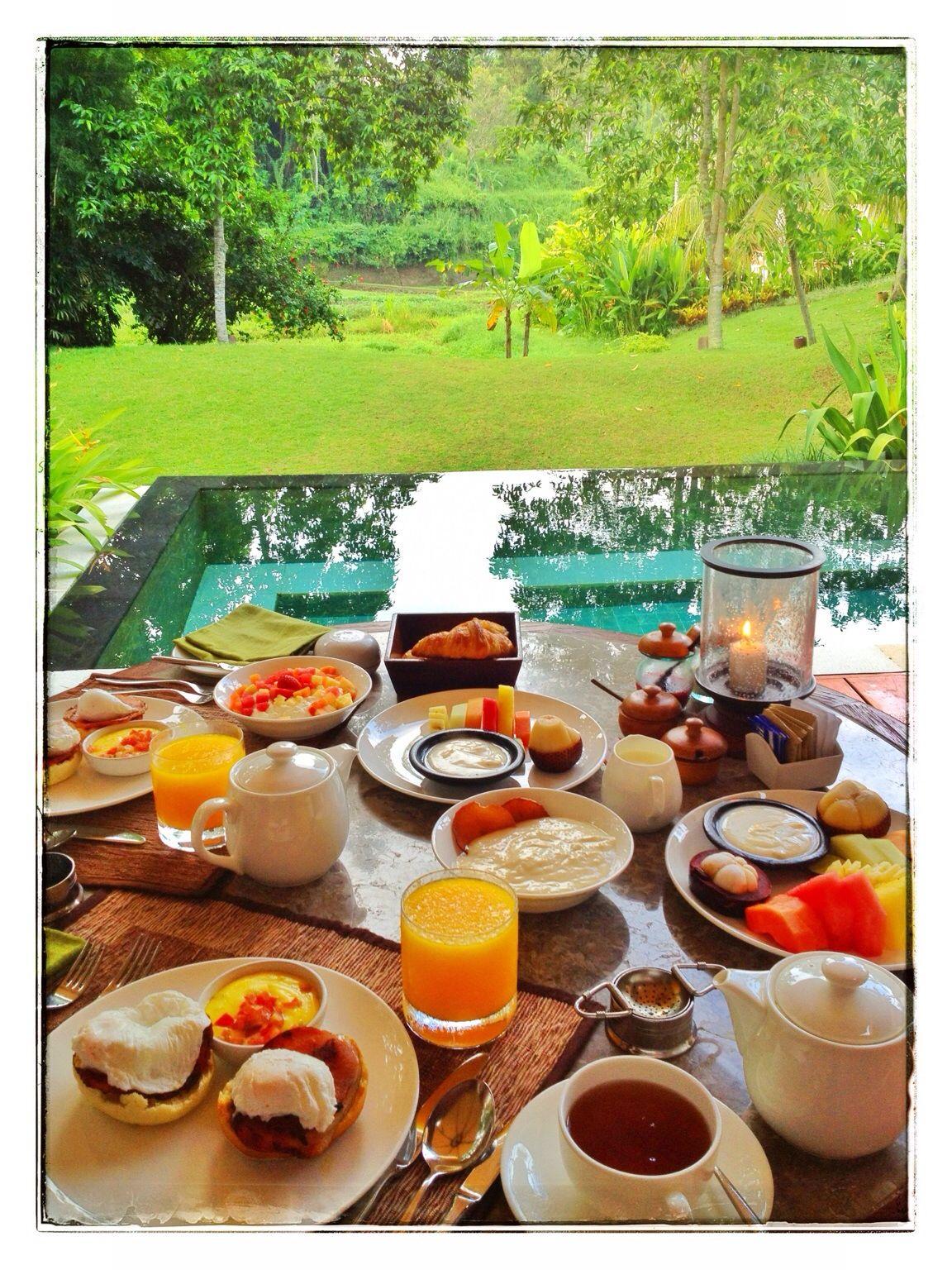My Breakfast fiesta at Four Seasons Resort at Sayan Ubud. | Travel ...