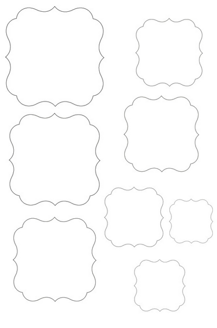 template frame frames pinterest template silhouettes and craft